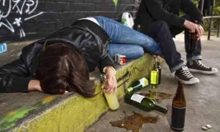 Alcol consumo giovani