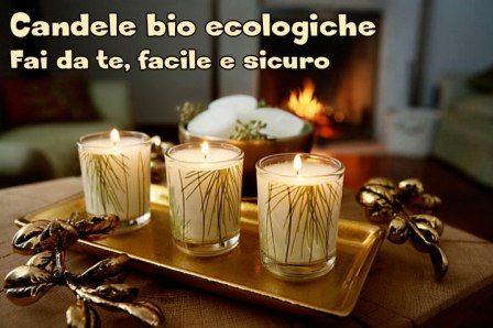 Candele bio ecologiche